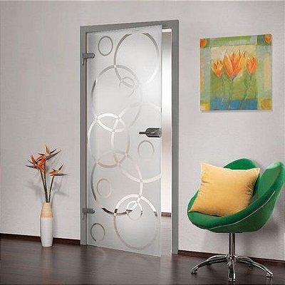 Adesivo jateado para portas - 210x060