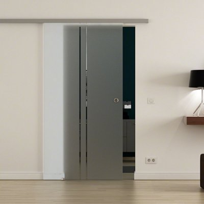 Adesivo JateadoPara Porta, Janelas e Box 210x100 cm