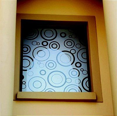 Adesivo JateadoPara Portas e janelas