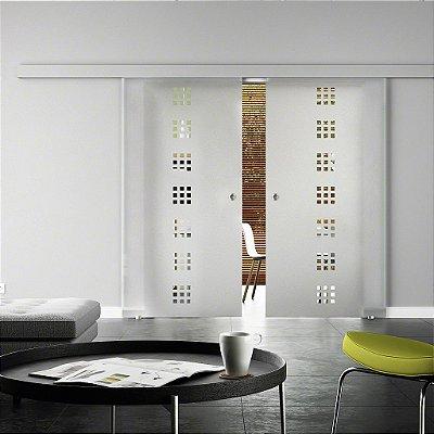 Adesivo jateado Fosco para vidros -2,15x0,83 cm