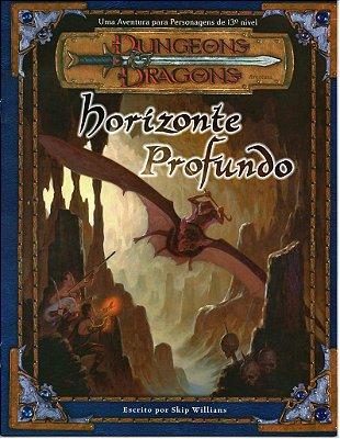 DUNGEONS & DRAGONS HORIZONTE PROFUNDO DEVIR LIVRO RPG NOVO