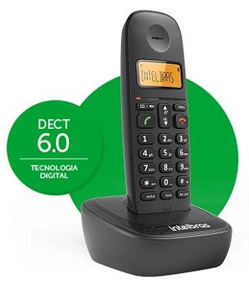 TELEFONE SEM FIO DIGITAL INTELBRAS TS 2510 BIVOLT