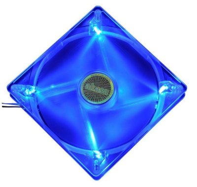 COOLER FAN AKASA LED AZUL 140MM 14CM AK-FN074 NOVO