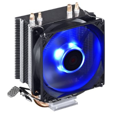 COOLER PARA PROCESSADOR INTEL AMD PCYES ZERO K Z2 C/ LED AZUL