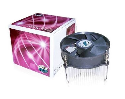 COOLER P/ PROCESSADOR INTEL SOCKET 1155 E 1156 COOLER MASTER DP6-9EDSA-0L-GP