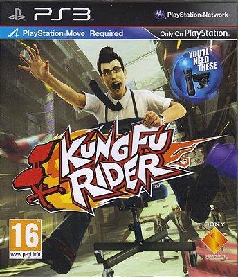 Jogo Kung Fu Rider Ps3 Novo Lacrado Compatível Move