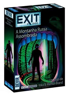 EXIT A MONTANHA RUSSA ASSOMBRADA JOGO DE TABULEIRO / CARTAS LACRADO