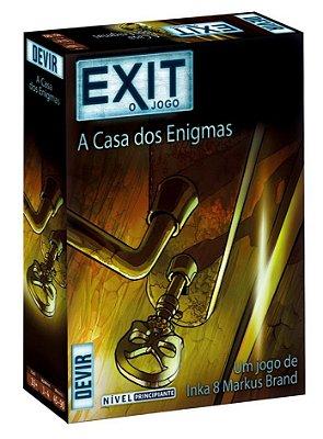 EXIT A CASA DOS ENIGMAS JOGO DE TABULEIRO / CARTAS LACRADO