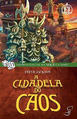 A CIDADELA DO CAOS STEVE JACKSON LIVRO JOGO RPG