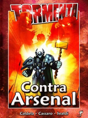 CONTRA ARSENAL TORMENTA LIVRO RPG