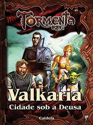 VALKARIA CIDADE SOB A DEUSA TORMENTA RPG LIVRO