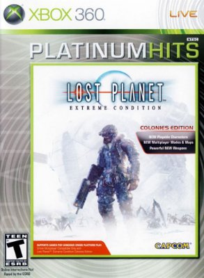 LOST PLANET EXTREME CONDITION COLONIES EDITION XBOX 360 LACRADO