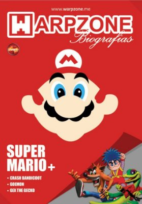 REVISTA WARPZONE BIOGRAFIAS N 1 SUPER MARIO CRASH GOEMON GEX