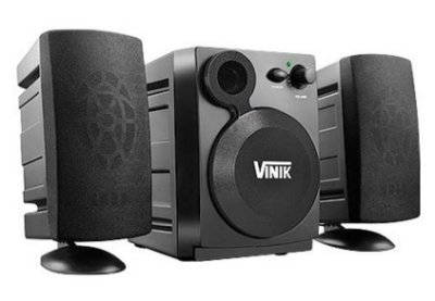 CAIXA DE SOM 2.1 4W RMS USB PRETO VINIK VS-213 PC NOTEBOOK