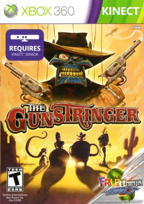THE GUNSTRINGER + FRUIT NINJA KINECT XBOX 360 LEGENDADO LACRADO