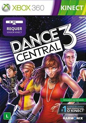 DANCE CENTRAL 3 XBOX 360 EM PORTUGUÊS FISICA LACRADO