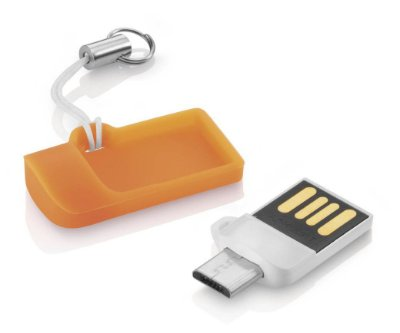 PEN DRIVE P/ CELULAR TABLET MICRO USB 8GB MULTILASER PD507 ANDROID PC
