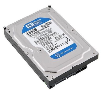 HD SATA 2 WESTERN DIGITAL 320GB WD3200AAKS 3.5 16MB 7.200 RPM LACRADO