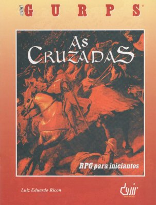 MINI GURPS AS CRUZADAS LIVRO RPG P/ INICIANTES