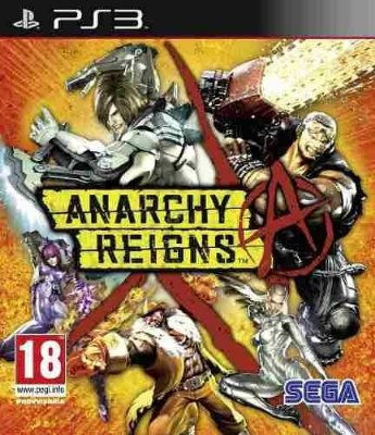 ANARCHY REIGNS PS3 NOVO LACRADO