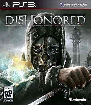 DISHONORED PS3 NOVO LACRADO ACOMPANHA DLC