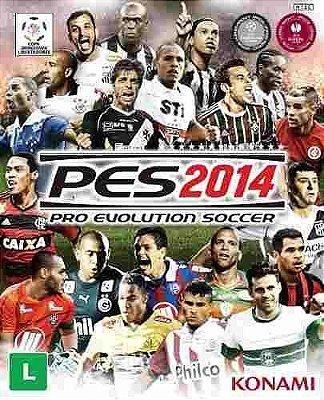 Pôster Pro Evolution Soccer 2014 A3 Original Novo Envernizado