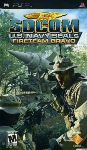 Socom Us Navy Seals Fireteam Bravo Psp Usado Completo