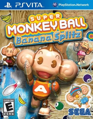 SUPER MONKEY BALL BANANA SPLITZ PS VITA