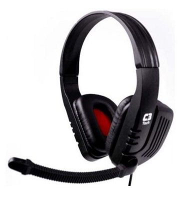 FONE DE OUVIDO HEADSET GAMER C3TECH PREDATOR MI-2558RB PC NOTEBOOK