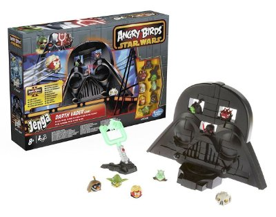 JOGO ANGRY BIRDS STAR WARS JENGA A ASCENSÃO DE DARTH VADER HASBRO