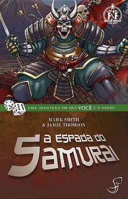 A ESPADA DO SAMURAI LIVRO JOGO RPG FIGHTING FANTASY