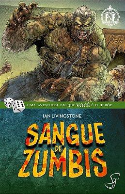 SANGUE DE ZUMBIS LIVRO JOGO RPG FIGHTING FANTASY