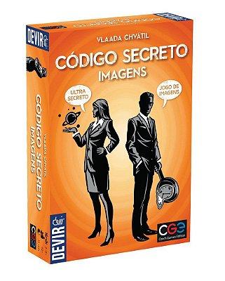 CÓDIGO SECRETO IMAGENS JOGO DE TABULEIRO PORTUGUÊS LACRADO