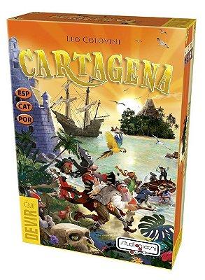 CARTAGENA JOGO DE TABULEIRO PORTUGUÊS LACRADO
