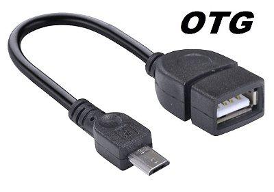 CABO ADAPTADOR OTG USB P/ MICRO USB CELULAR TABLET VINIK UFMU-OTG