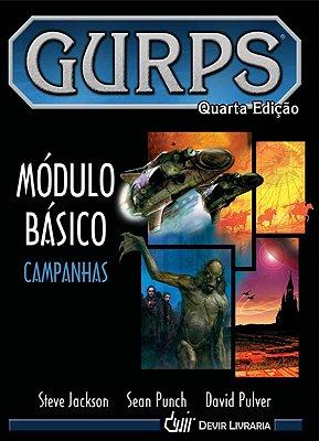 GURPS MÓDULO BÁSICO CAMPANHAS QUARTA EDIÇÃO LIVRO RPG CAPA DURA