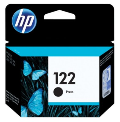 CARTUCHO HP 122 PRETO CH561HB 2 ML ORIGINAL LACRADO