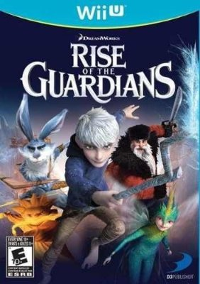 Rise Of The Guardians Wii U Novo Lacrado
