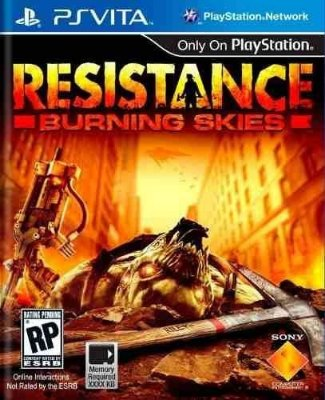 Resistance Burning Skies Ps Vita Novo Lacrado