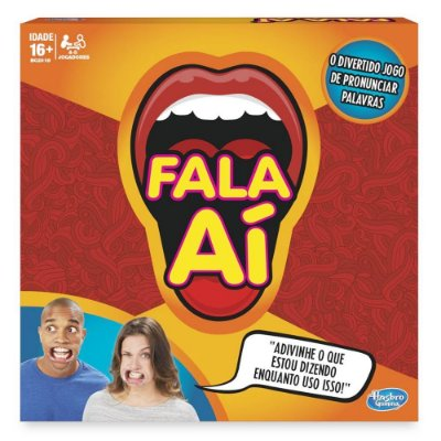 FALA AÍ HASBRO JOGO DE PRONUNCIAR PALAVRAS