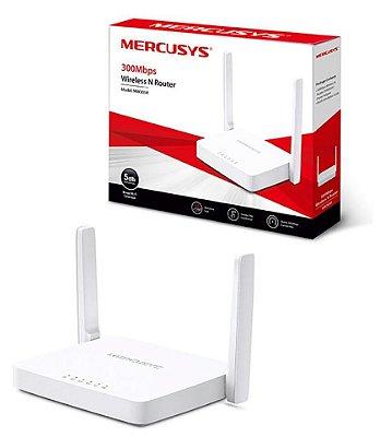 ROTEADOR WIFI WIRELESS N MERCUSYS MW305R 300 MBPS 2 ANTENAS BIVOLT