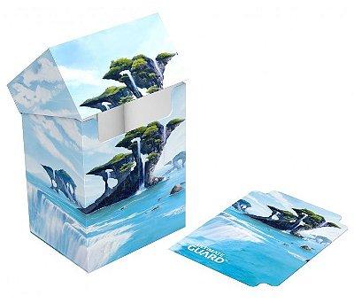 DECK BOX PORTA CARTAS ULTIMATE GUARD ISLAND I P/ YU-GI-OH! POKÉMON E MAGIC