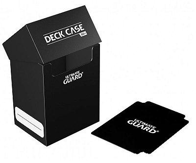 DECK BOX PORTA CARTAS ULTIMATE GUARD PRETO P/ YU-GI-OH! POKÉMON MAGIC