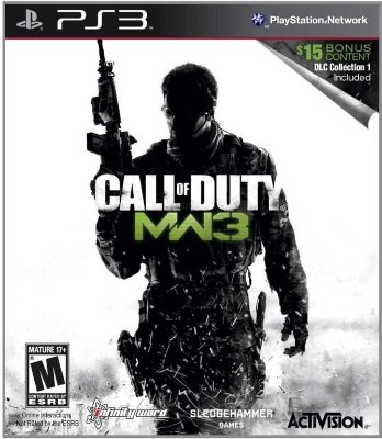 CALL OF DUTY MODERN WARFARE 3 COM PACOTE DLC PS3 NOVO LACRADO