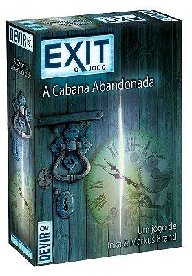 EXIT A CABANA ABANDONADA JOGO DE TABULEIRO / CARTAS LACRADO