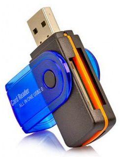 ADAPTADOR LEITOR DE CARTÃO XTRAD UF0016 MICRO SD MEMORY STICK M2 USB