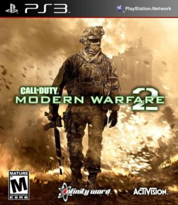 CALL OF DUTY MODERN WARFARE 2 PS3 NOVO LACRADO