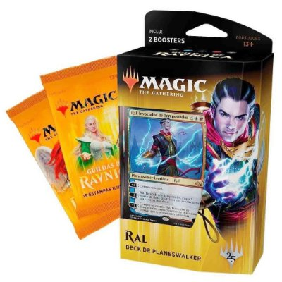 MAGIC GUILDAS DE RAVNICA DECK DE PLANESWALKER RAL C/ 2 BOOSTERS