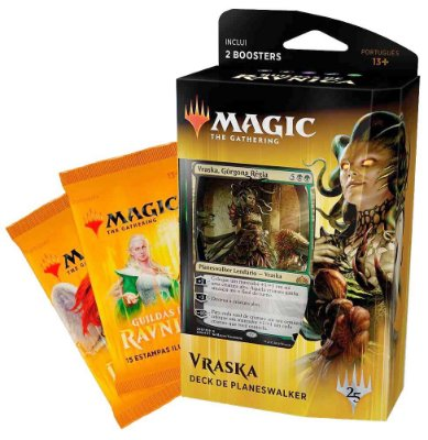 MAGIC GUILDAS DE RAVNICA DECK DE PLANESWALKER VRASKA C/ 2 BOOSTERS