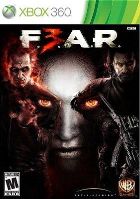 FEAR 3 XBOX 360 NOVO LACRADO LEGENDADO EM PORTUGUES